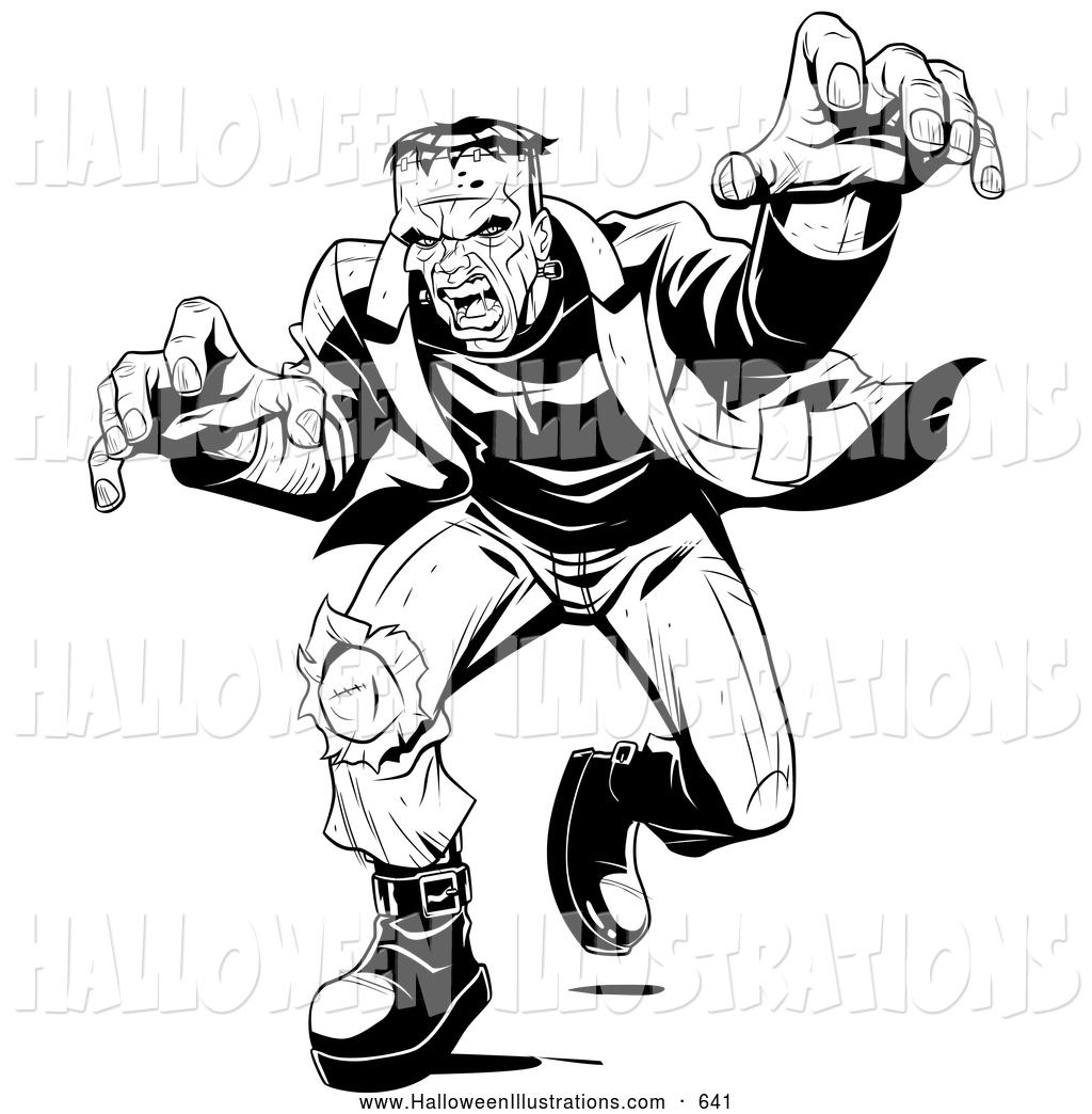 Frankenstein clipart scary. Free download best