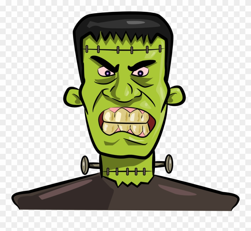Frankenstein clipart transparent. Kid clipartix png