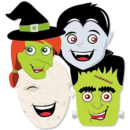 Frankenstein clipart vampire. Amazon com big dot