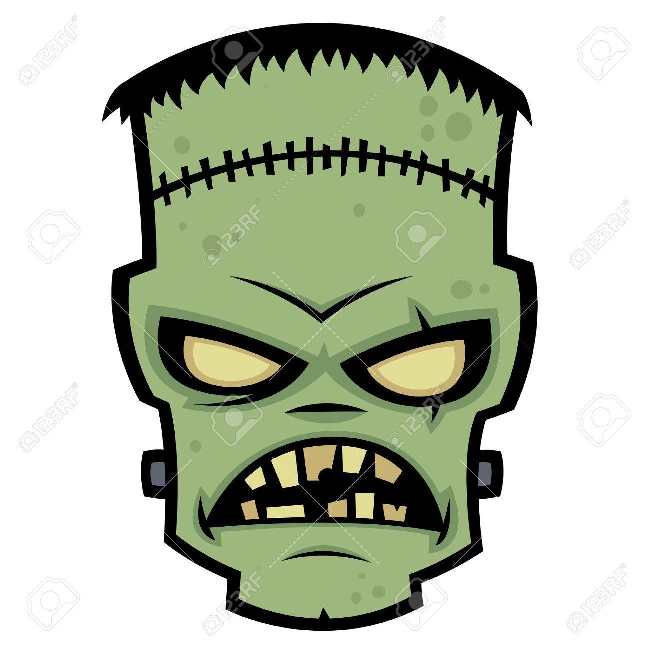 Frankenstein clipart vector. Stock illustration and royalty
