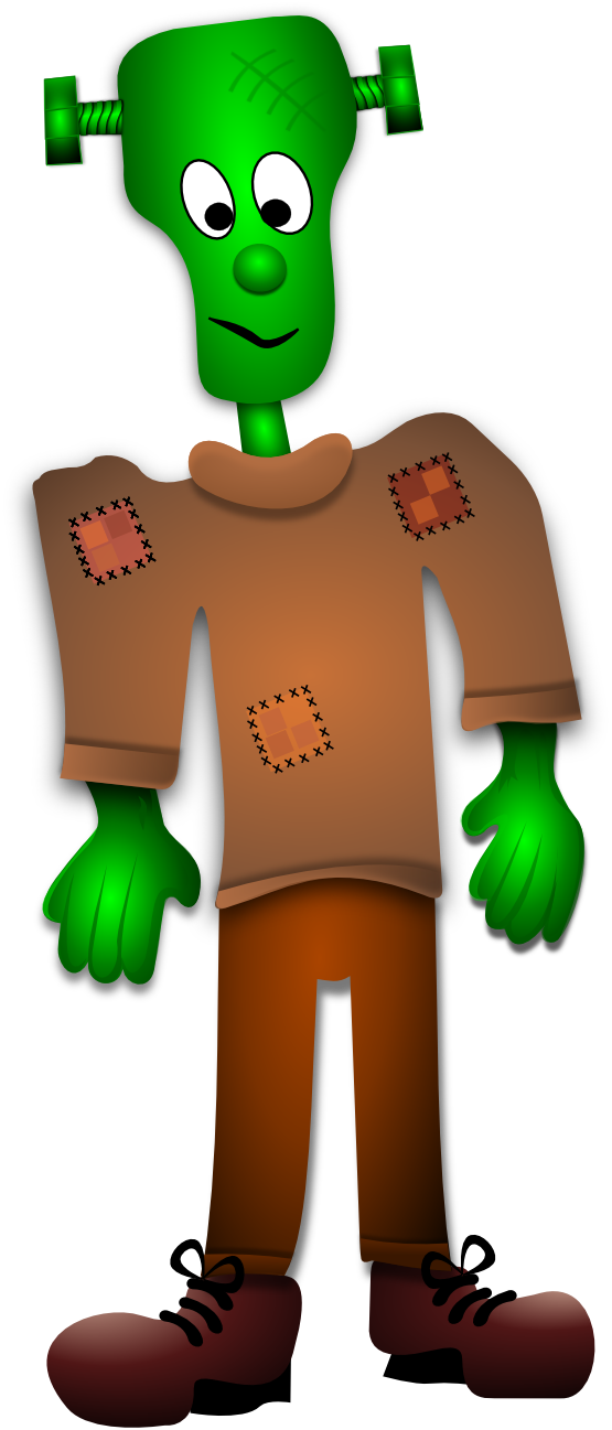 Clipartist net clip art. Frankenstein clipart vector