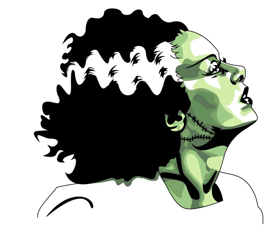 Free cartoon images download. Frankenstein clipart vector