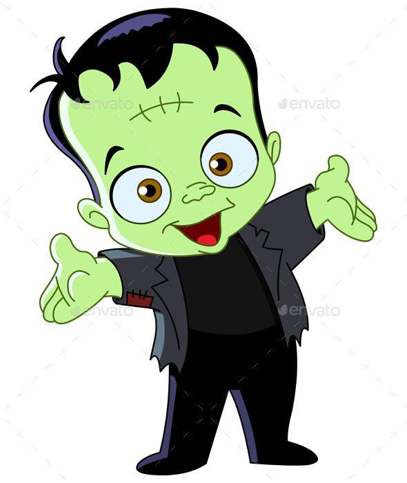 Kid other art in. Frankenstein clipart vector