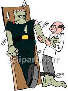 Frankenstein clipart victor frankenstein. Cartoon clip art bay