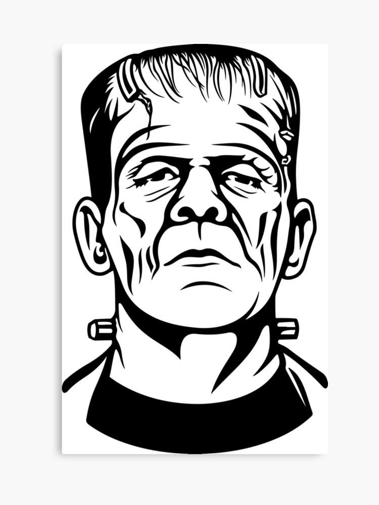 Frankenstein clipart vintage. Movie original gift idea