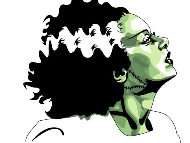 Free bride of download. Frankenstein clipart vintage