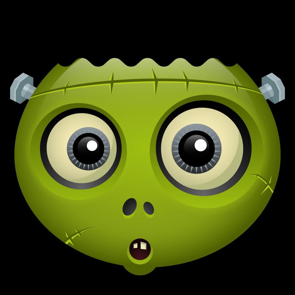 Spooky frankie halloween monster. Frankenstein clipart zombie