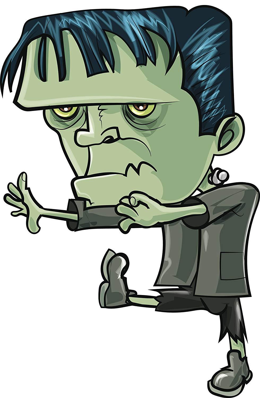 Amazon com cute boxy. Frankenstein clipart zombie