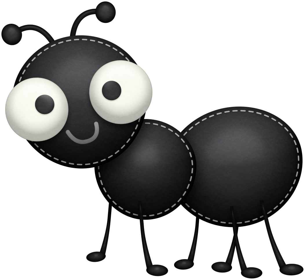 Cute letters format clip. Free clipart ant