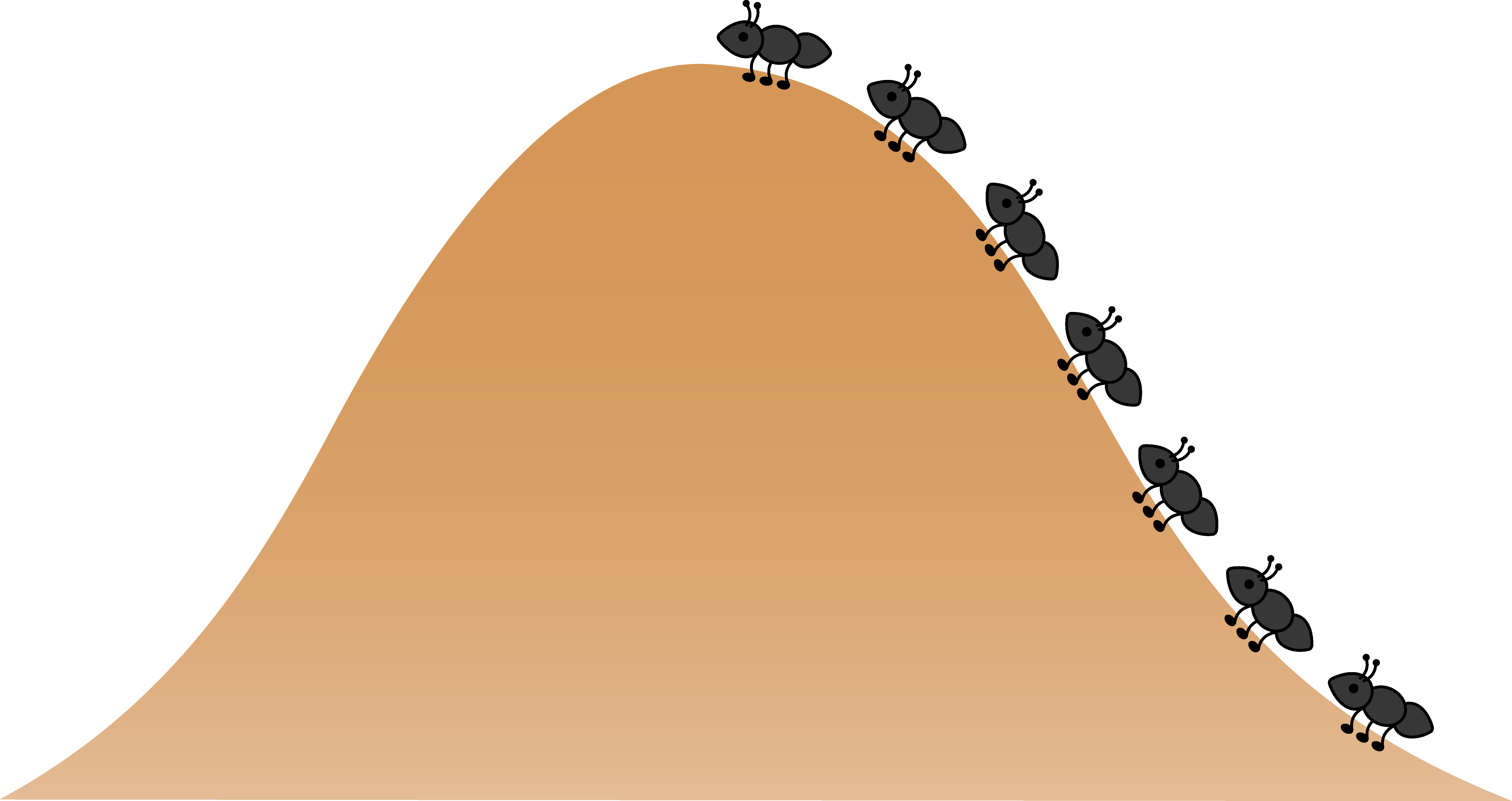 collection of ant. Hills clipart distant