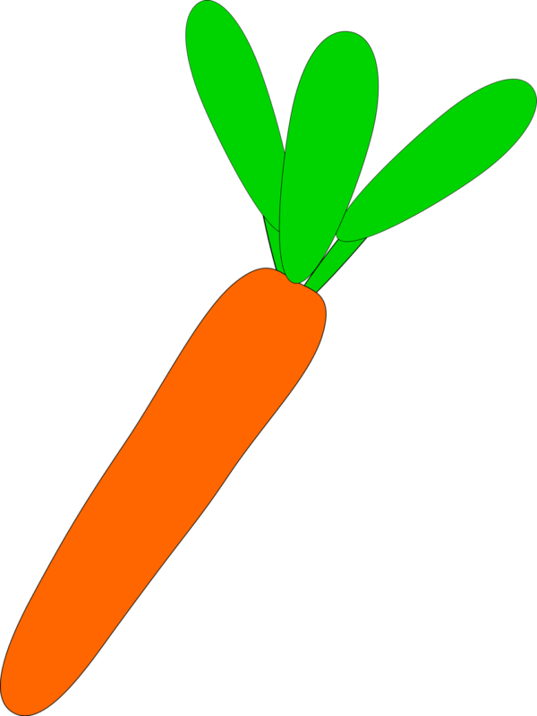 Free clipart carrot. Best images download