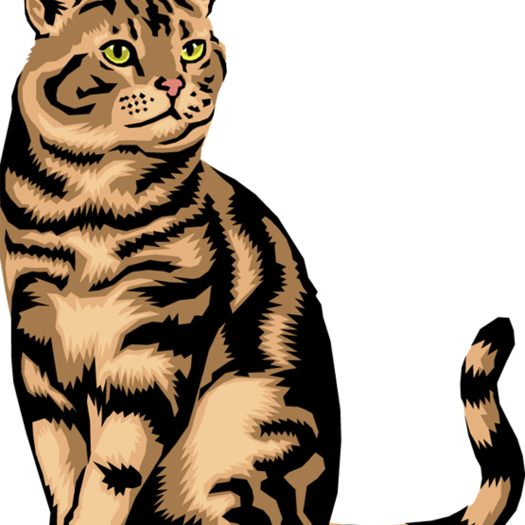 Clip art real and. Free clipart cat