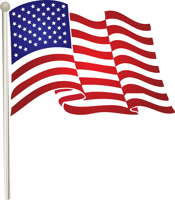 American images download clip. Free clipart flag