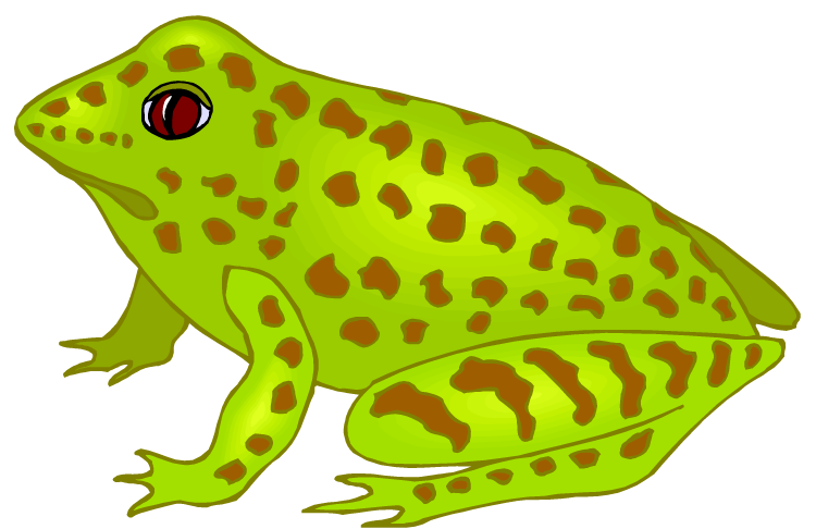 Frog clipart sign. Free i love polka