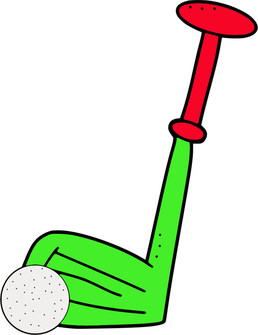 Clip group ball art. Free clipart golf