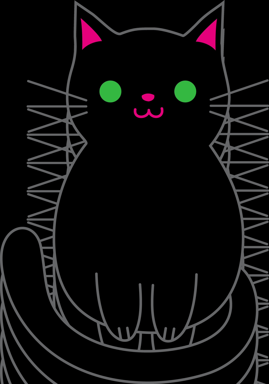 Cliparts co love black. Free clipart kitten