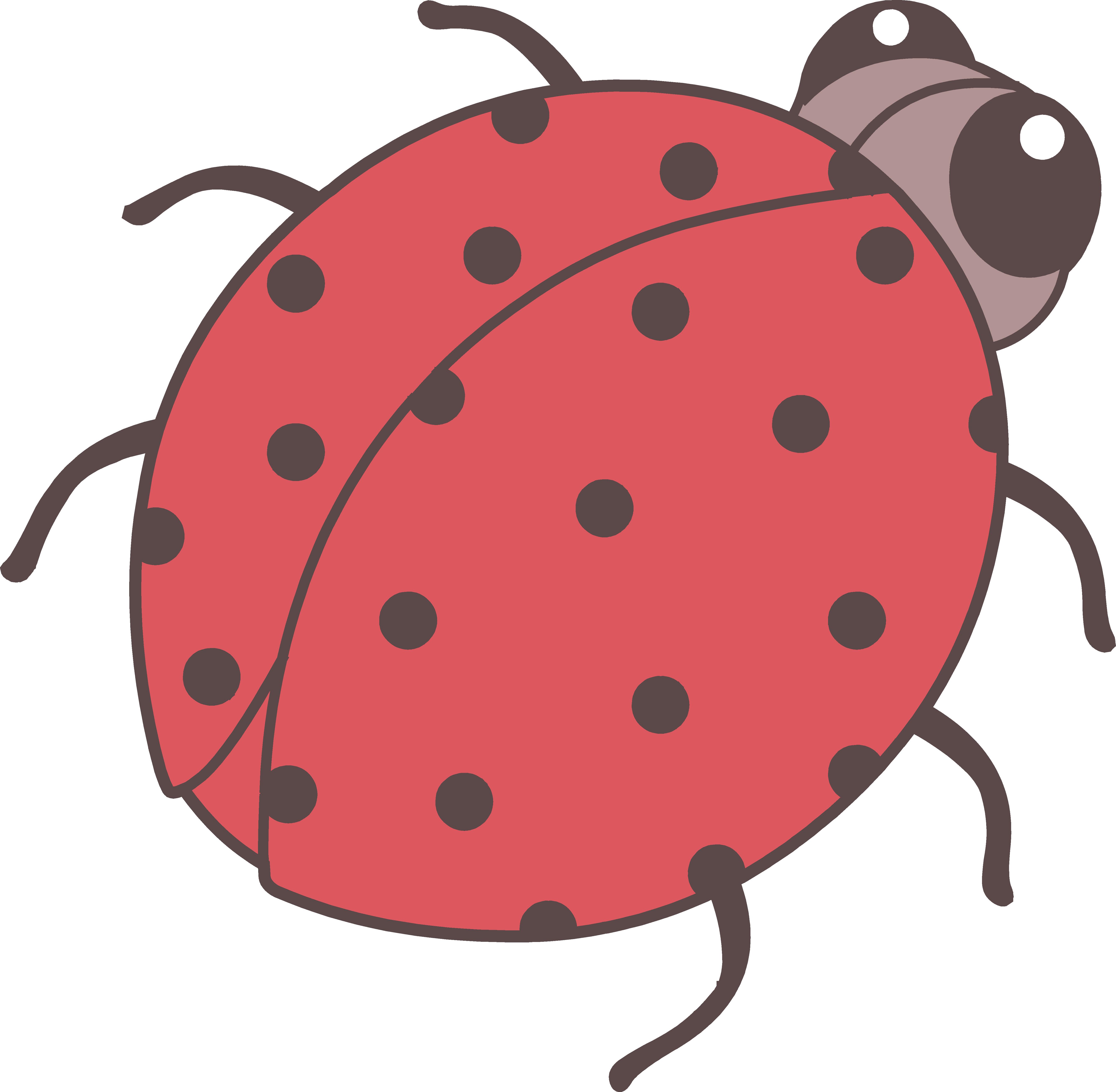 girly clipart ladybug