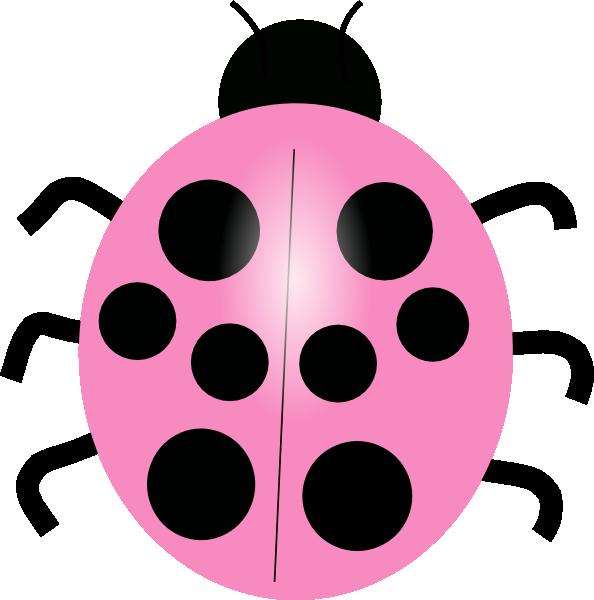 Girly clipart ladybug. Free clip art pink