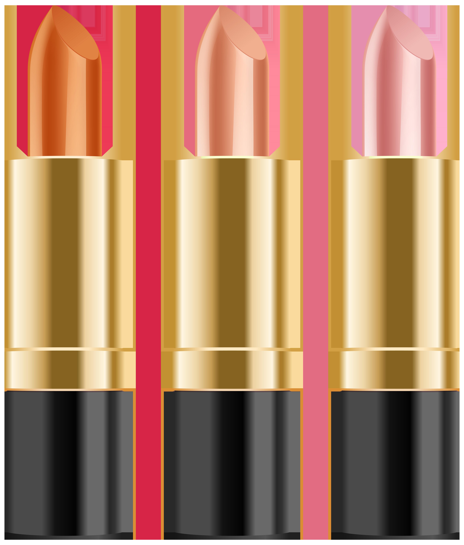 Lipstick clipart border. Set clip art png