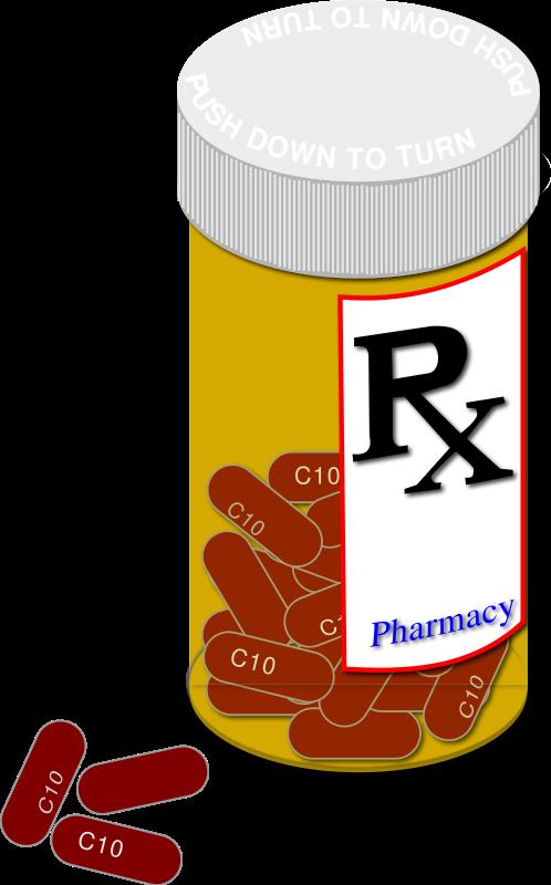 Medical clipart panda free. Prescription bottle png