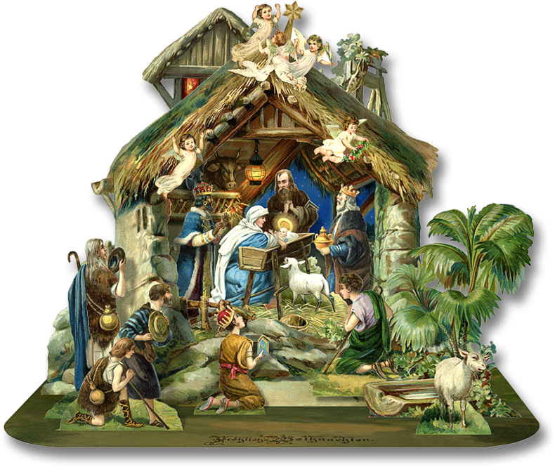 Download and use png. Nativity clipart advent
