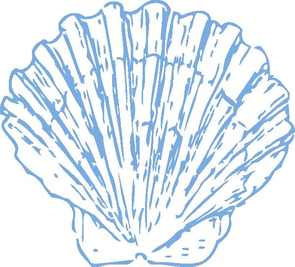 Free clipart seashell. Scallop clip art at