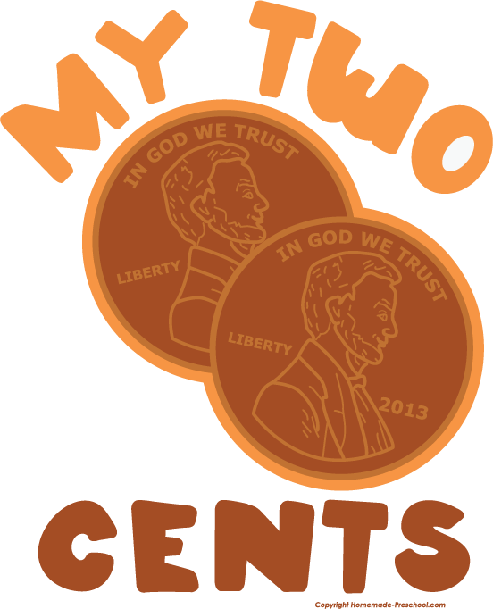 Pennies clipart uncirculated. Two cents free download