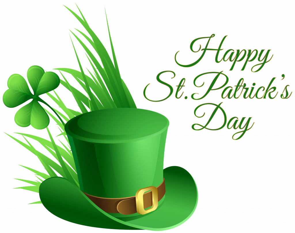 hats clipart st patrick's day