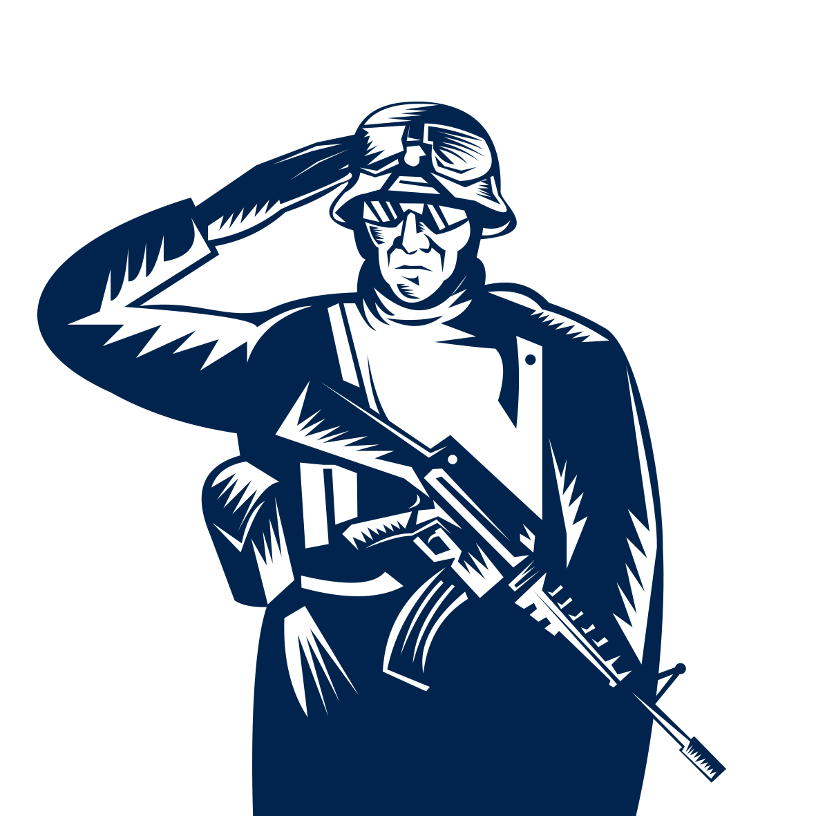 Free clipart veterans day. Salute stock photography clip