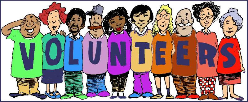 Volunteering clipart charity work. Volunteers clip art free