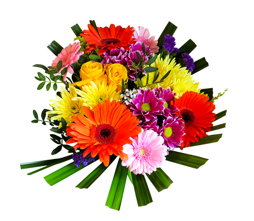 Bouquet of flowers images. Free flower png