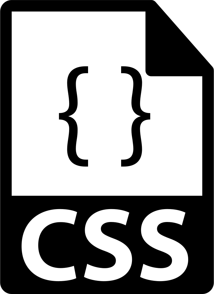 Css file format symbol. Free icon png files