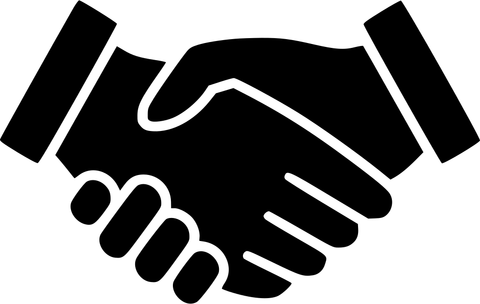 Handshake svg download onlinewebfonts. Free icon png