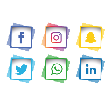 Facebook instagram twitter icons png. Phone vectors psd and