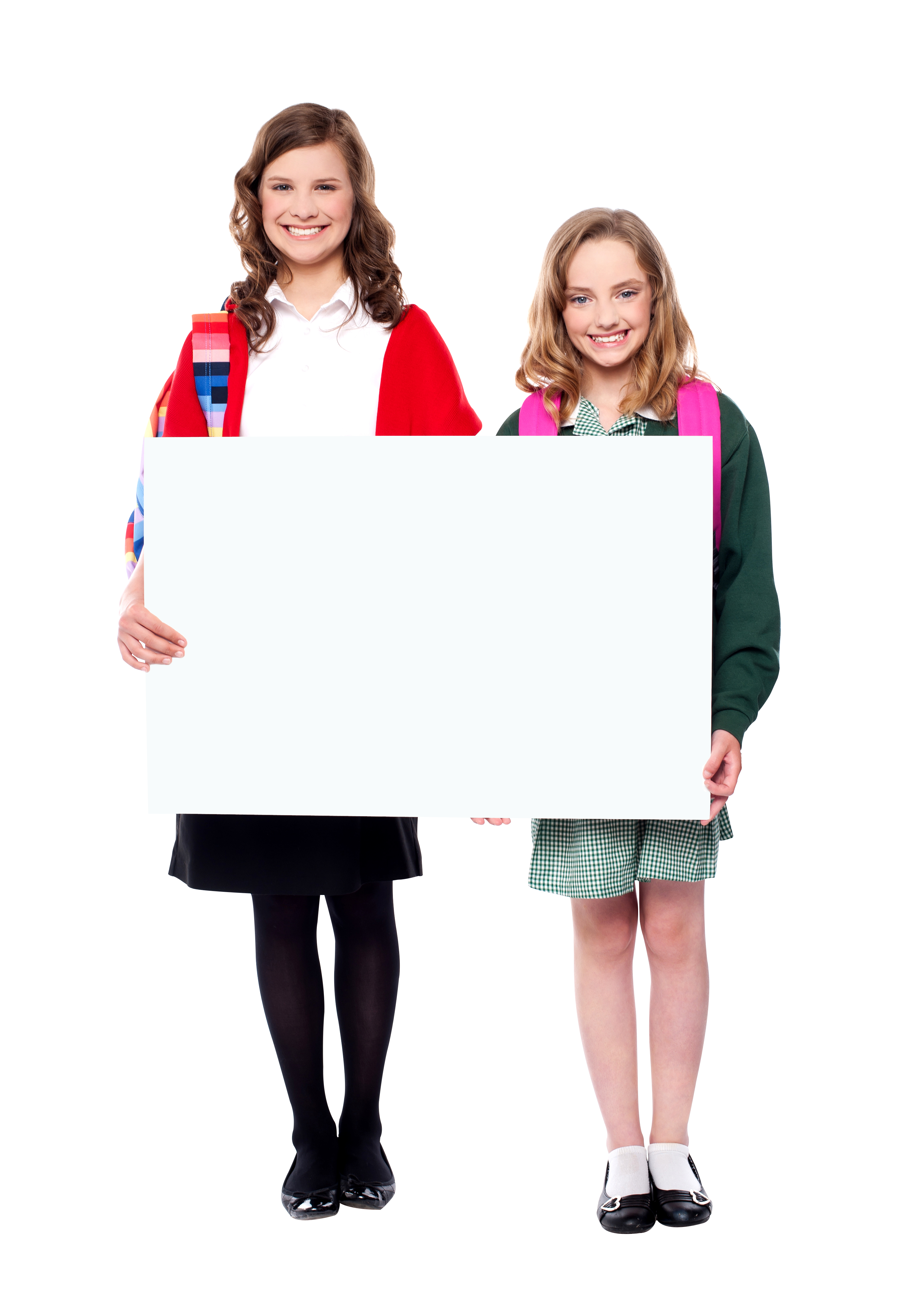 People holding banner royalty. Free png images for commercial use