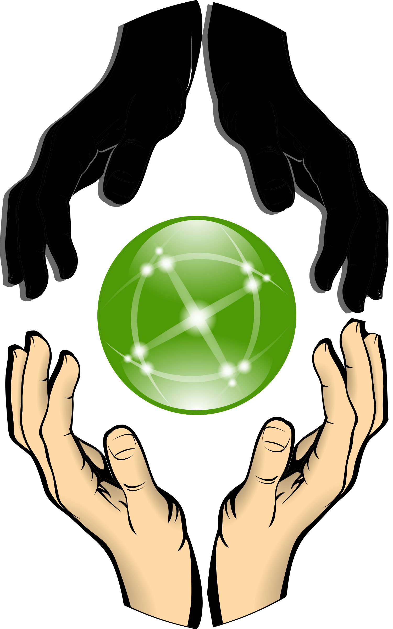 Freedom clipart hands. Forming unity big image