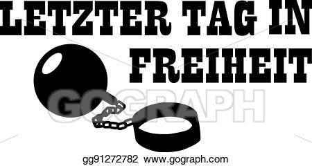 Freedom clipart last. Vector stock shackle bachelor