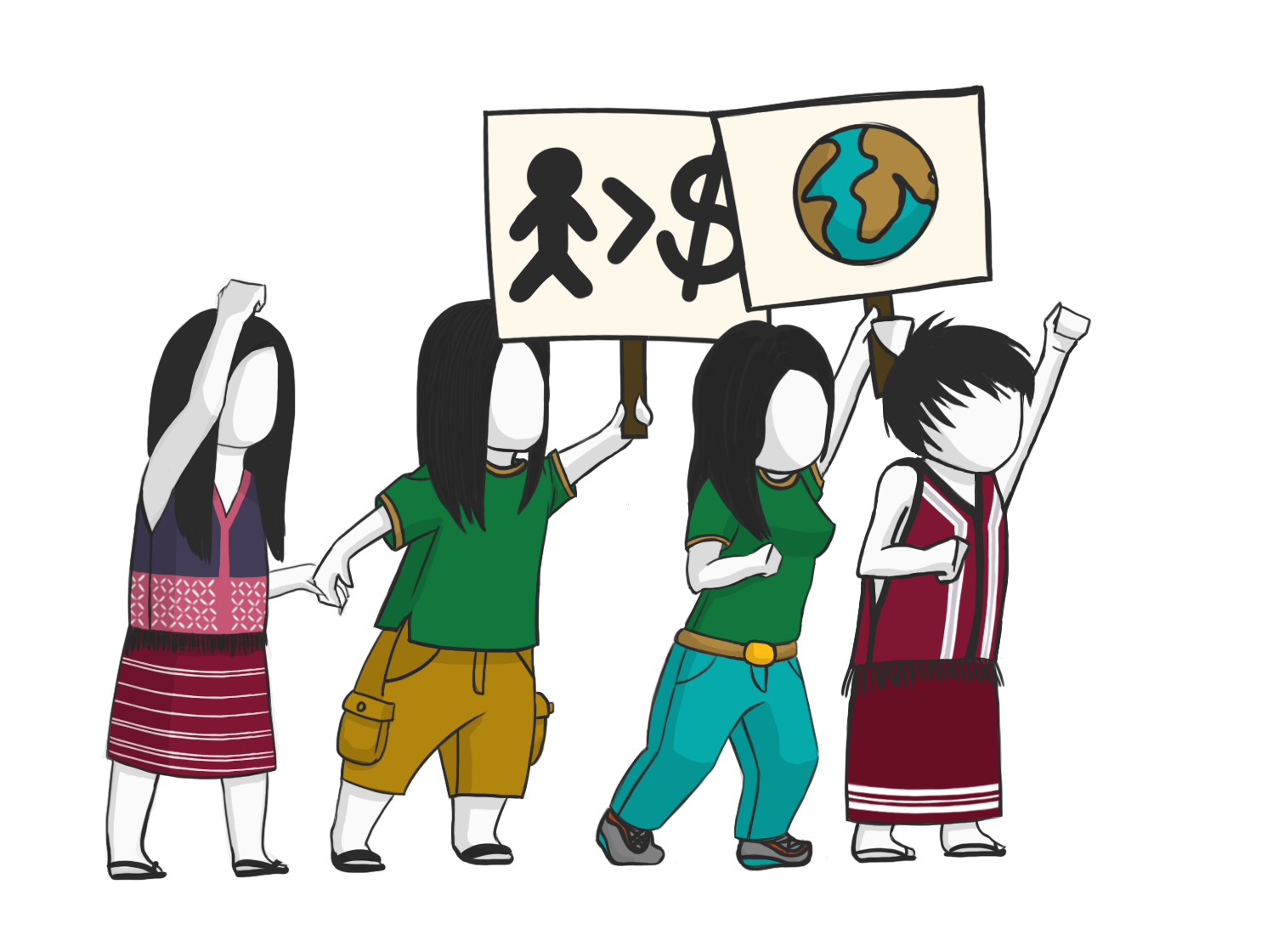 Justice clipart human right. Earthrights international the power