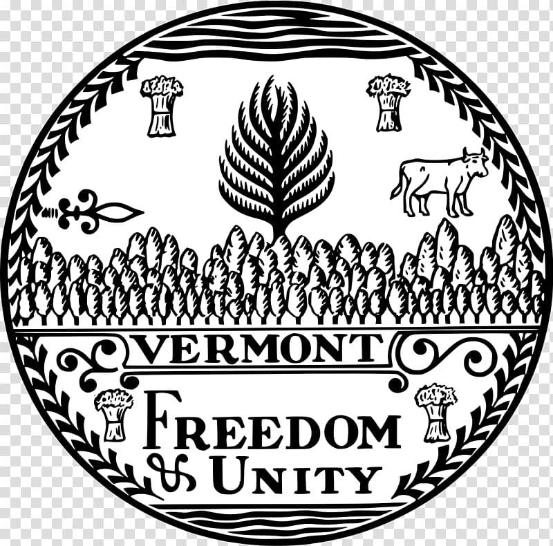 Freedom clipart unity. Vermont republic seal of