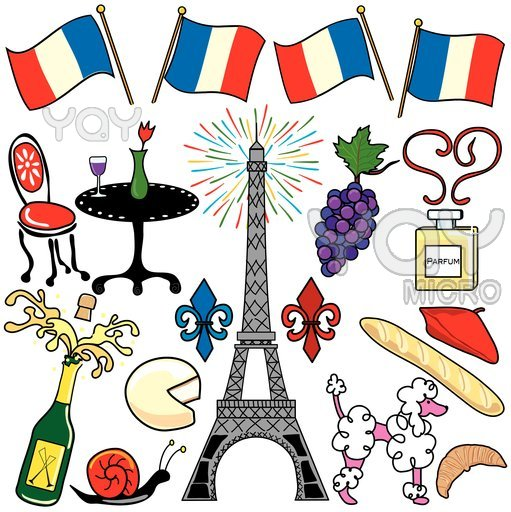 France clip art free. French clipart