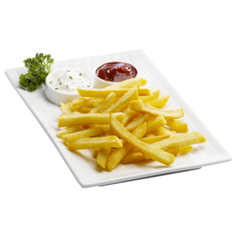 Fries clipart large. Chicken fingers french