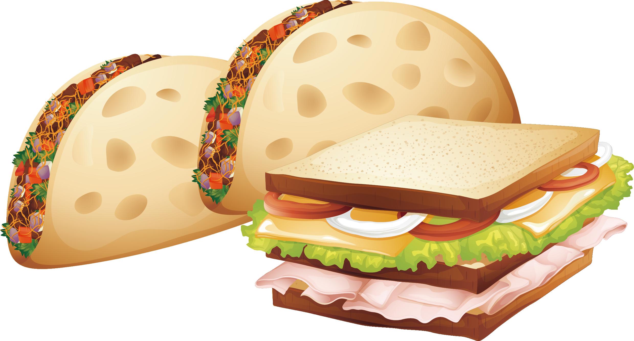 Fries clipart breakfast. Chicken nugget hamburger french