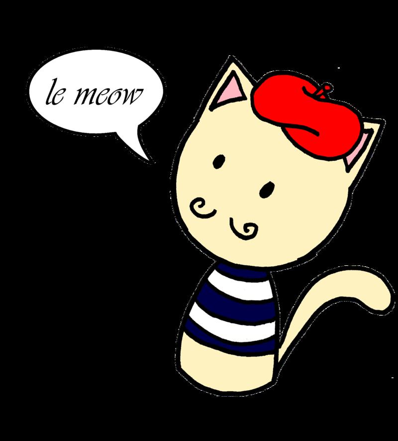 Duolingo drawing clip art. Kitten clipart cat meow