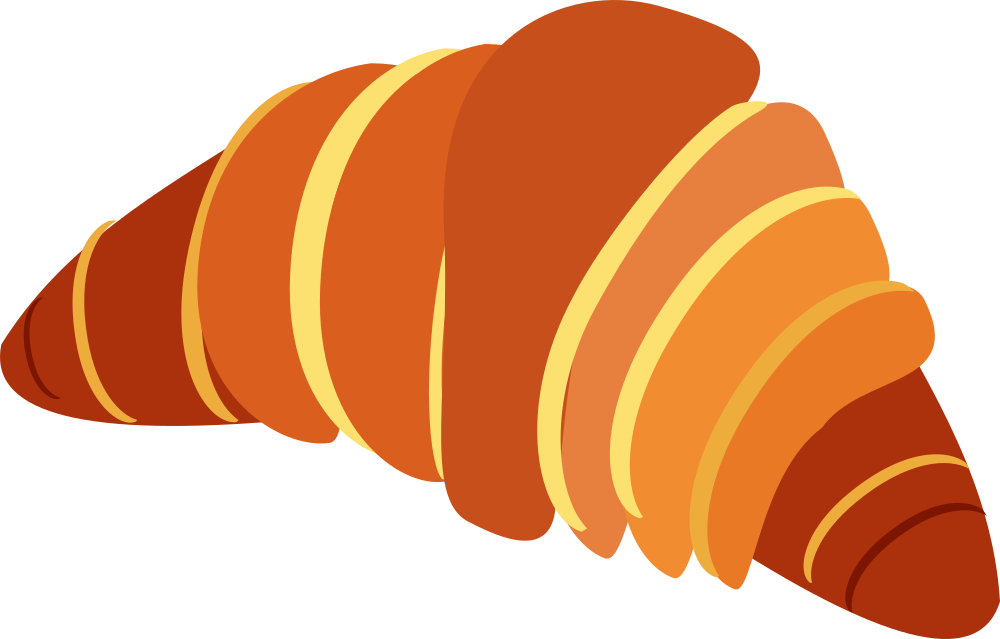 Onlinelabels clip art. French clipart french croissant