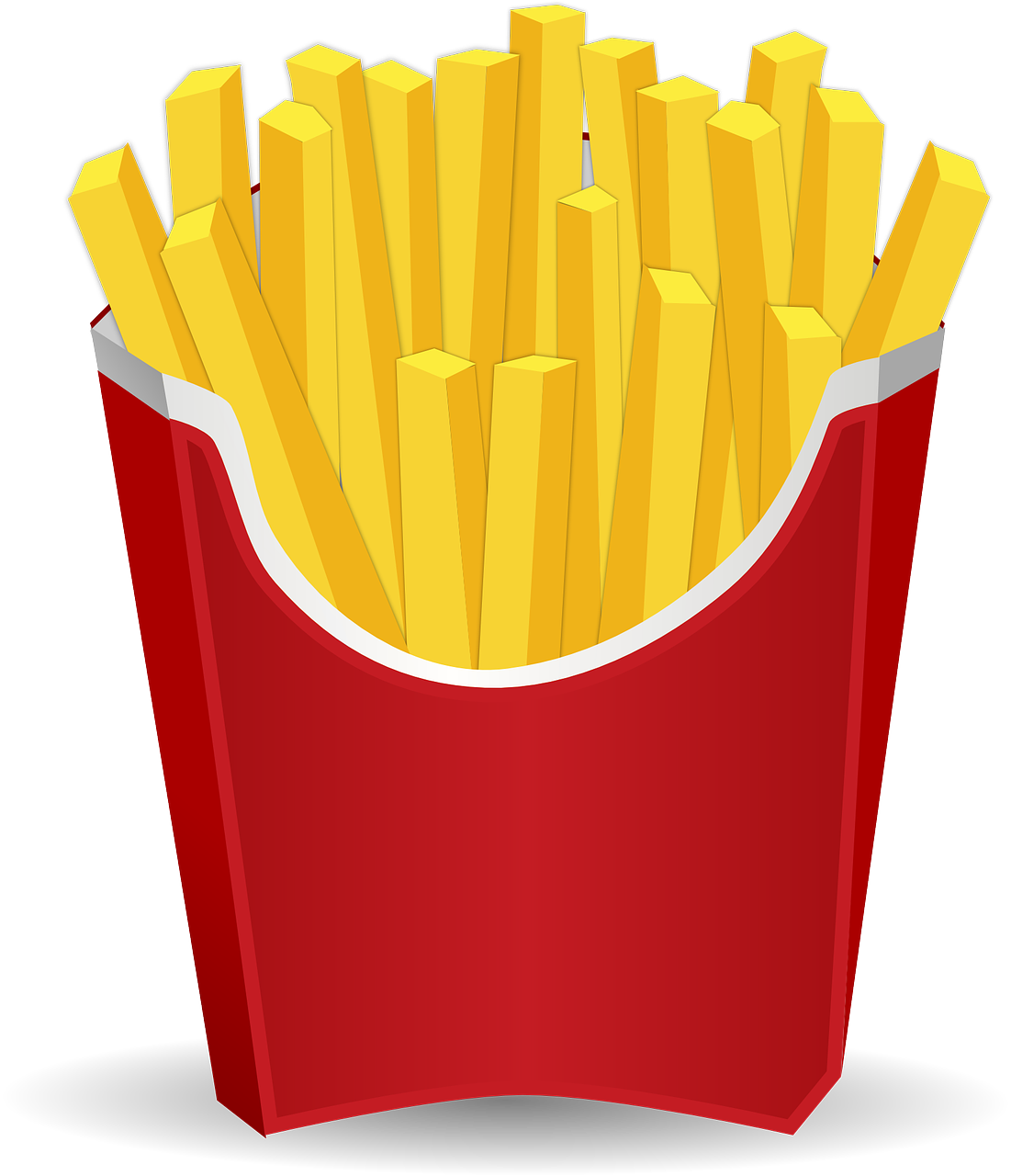 chips french fries. Moving clipart food