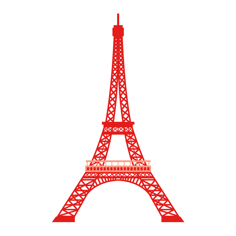 French clipart sketch eiffel tower. Drawing stock illustration clip