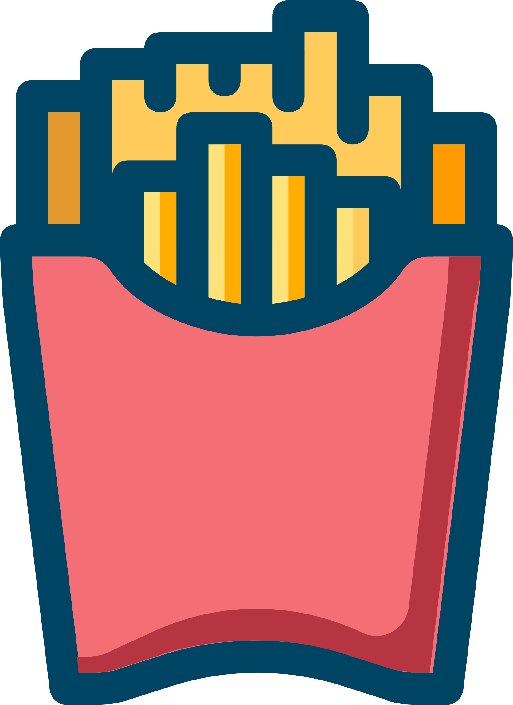 Fries clipart red. French big image png