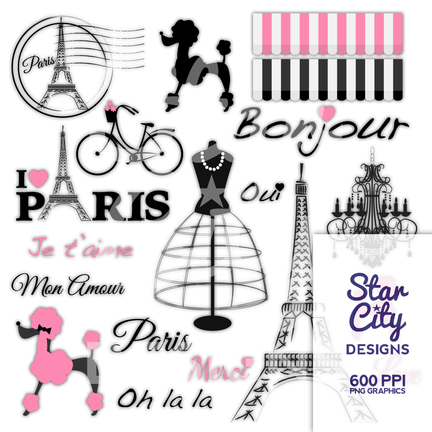 Free download clip art. French clipart themed paris