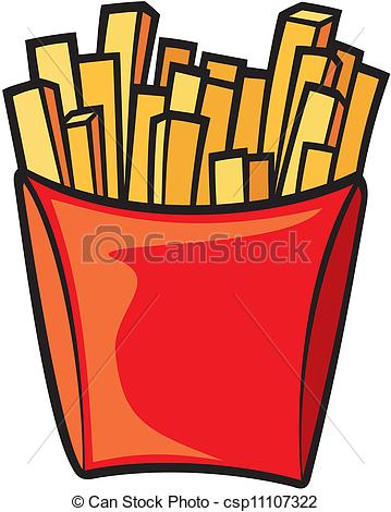 Vector french panda free. Fries clipart drawn