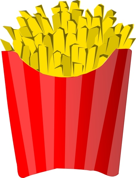 Fries clipart frenc. French clip art free